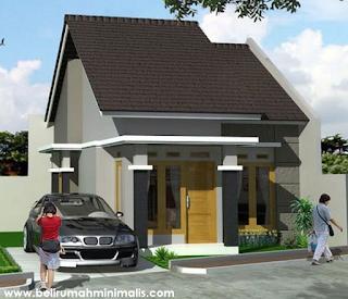 Desain dan Denah Rumah Minimalis Sederhana Type 21 5