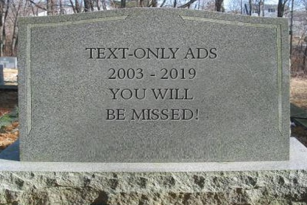 Adsense Just Dropped Text Ads...But That Is Not Necessarily a Bad Thing!