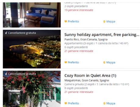 valutare gradimento annuncio airbnb e wimdu