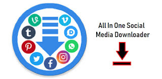 All-In-One Social Media Downloader app
