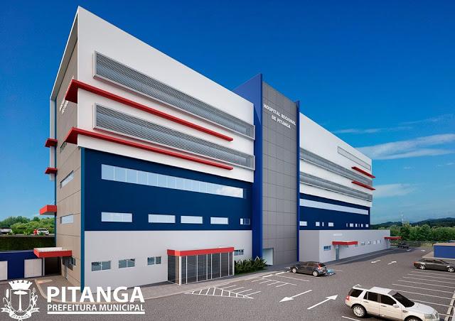 Pitanga: Assinada Ordem de Serviço para construção do Hospital Regional
