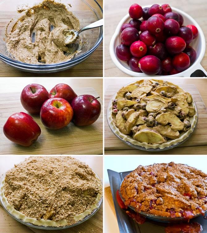 Cranberry Sour Cream Cake