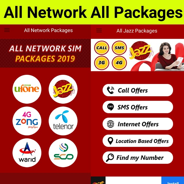 All Network Cheapest Packages 2020