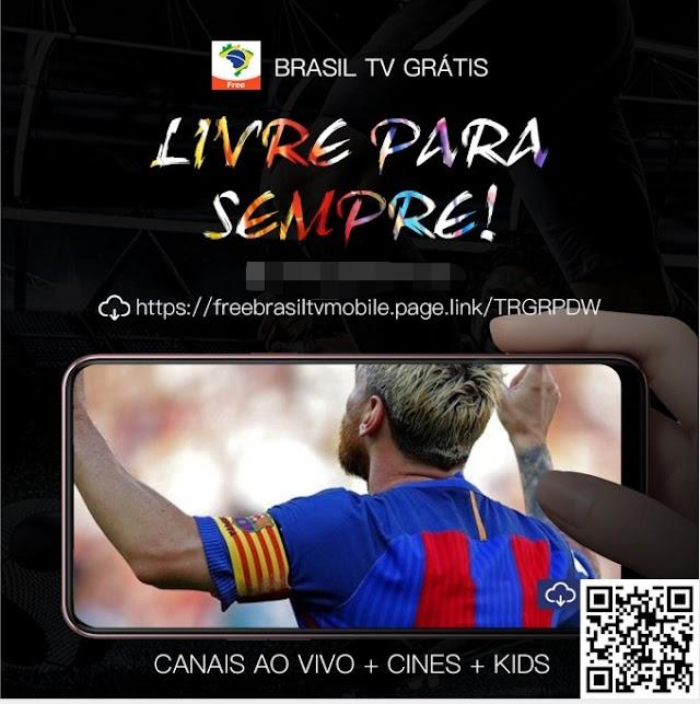 Novo Aplicativo FreeBrasilTV Atualização - 04/11/2020
