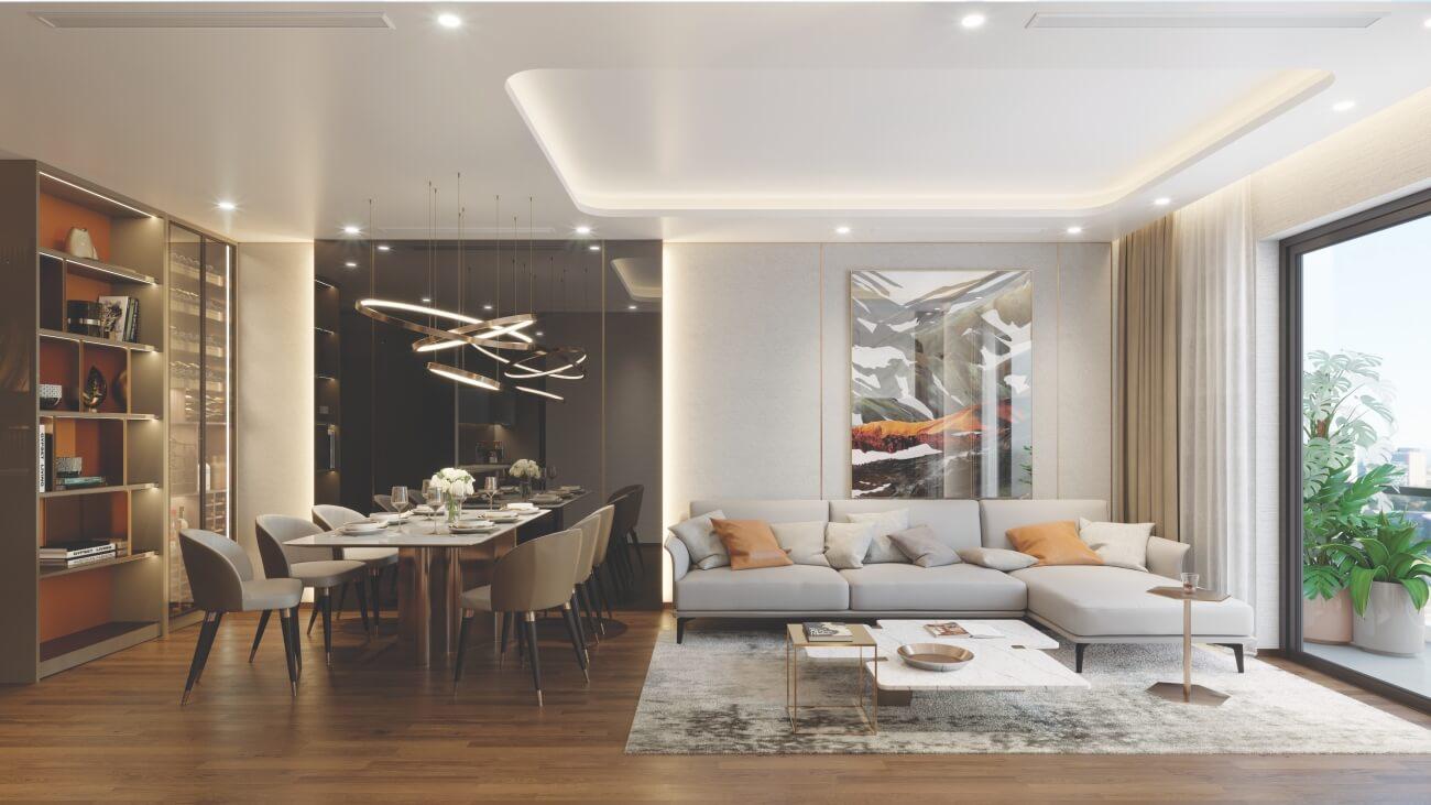 Thiết kế căn hộ dự án The Matrix One Mễ Trì