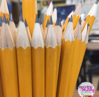close up of pencils in a cup - flexible seating