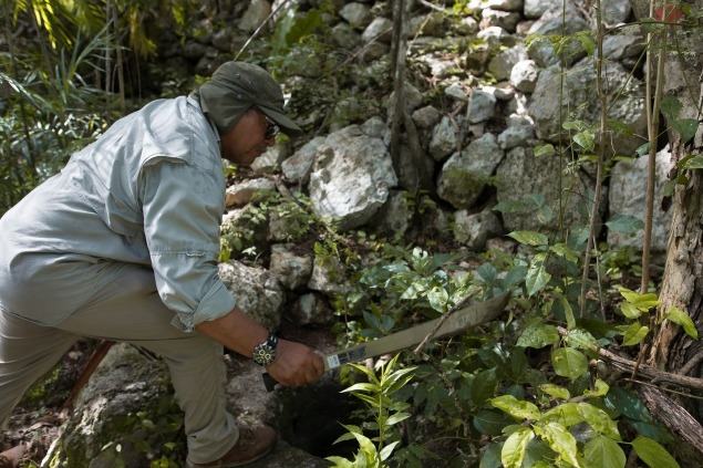 Fortification wall surrounding ancient Mayan city of Uxmal uncovered