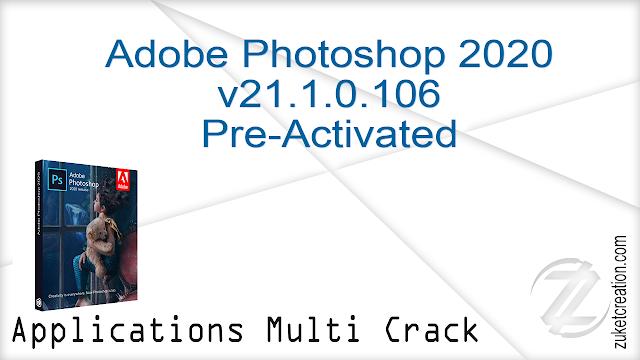 Adobe Photoshop 2020 v21.1.0.106 Pre-Activated