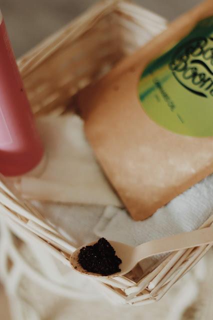 naturalny peeling kawowy