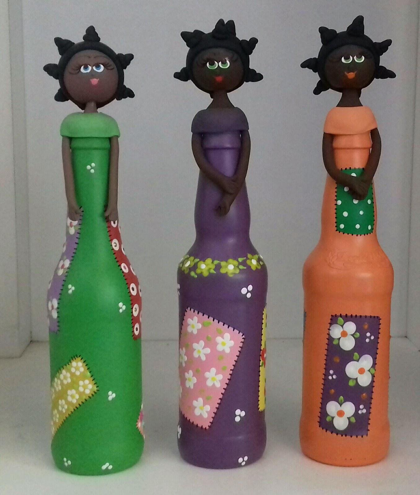 Aprende Como Hacer Una Linda Africana Con Botellas Recicladas