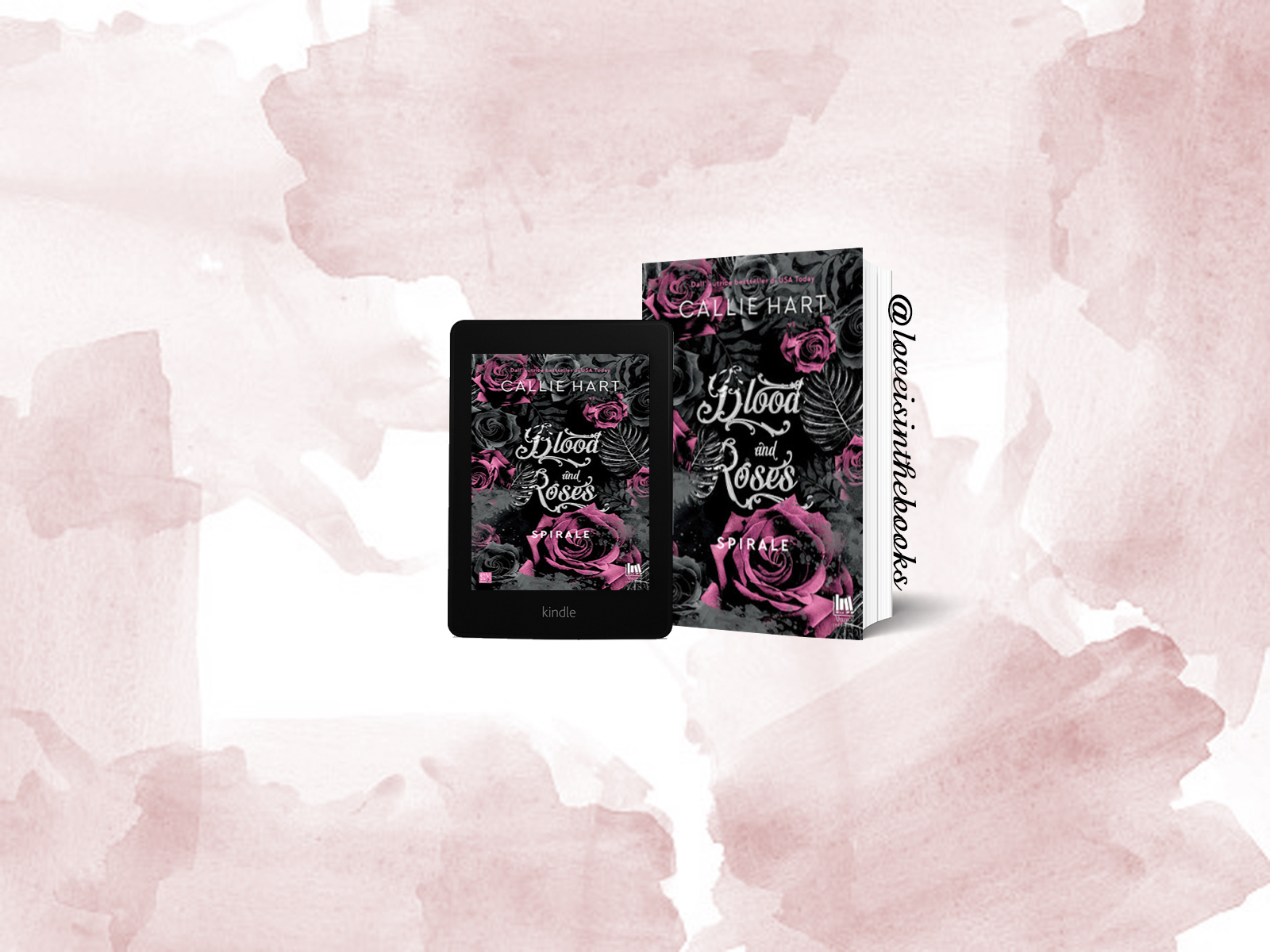 Blood and Roses. Spirale di Callie Hart | Review Party
