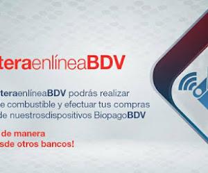 Pasos para crear una billetera en línea del Banco de Venezuela