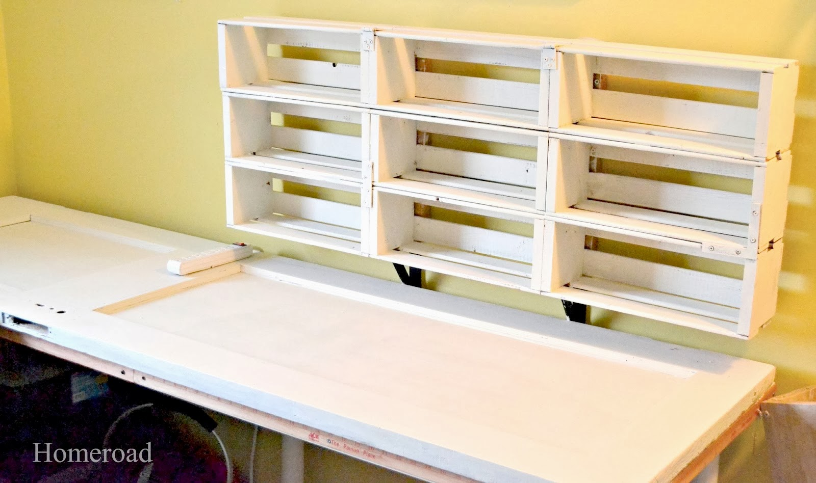 Craft Room with Unique Storage Ideas | Homeroad