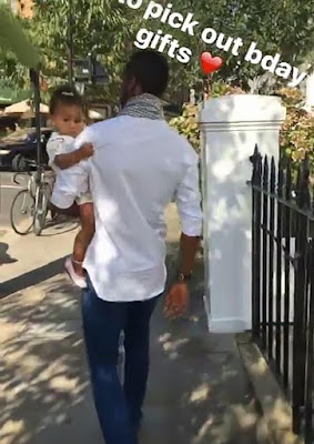 Photos:  Mikel Obi's twin daughters turns 1 today!