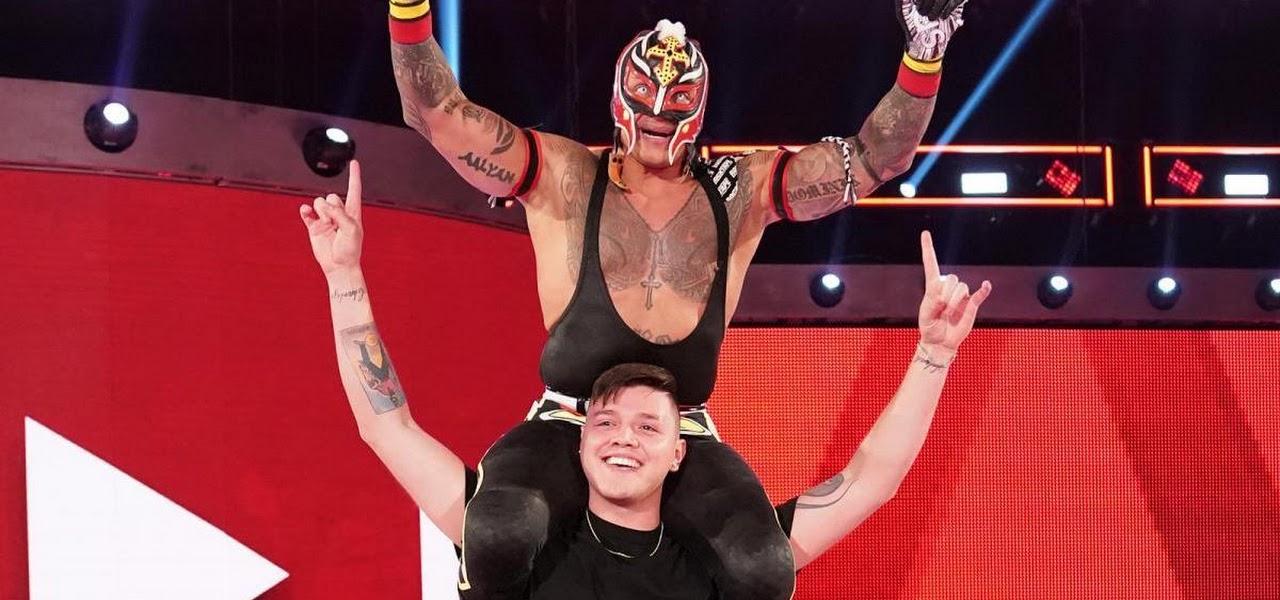 Rey Mysterio não quer ter uma rivalidade com Dominik na WWE