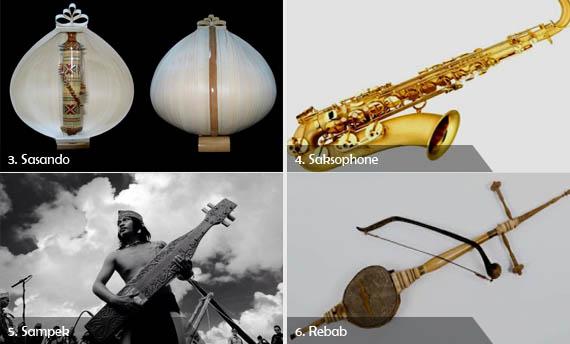 10 Contoh Alat Musik Harmonis Gambar Dan Keterangannya Adat