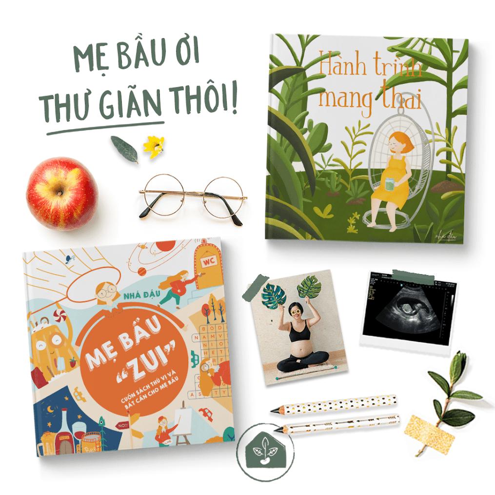 """[A116] Kinh nghiệm chọn sách thai giáo: Vì sao nên mua """"Mẹ Bầu Zui"""""""