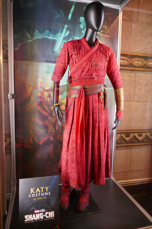 Awkwafina Shang-Chi Katy movie costume