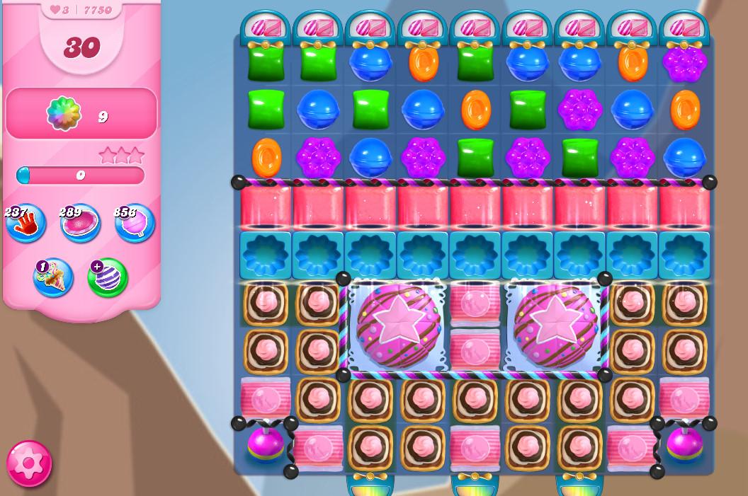 Candy Crush Saga level 7750