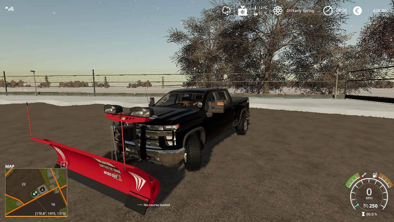 FS19 2020 Chevy Silverado Plow truck v1.0