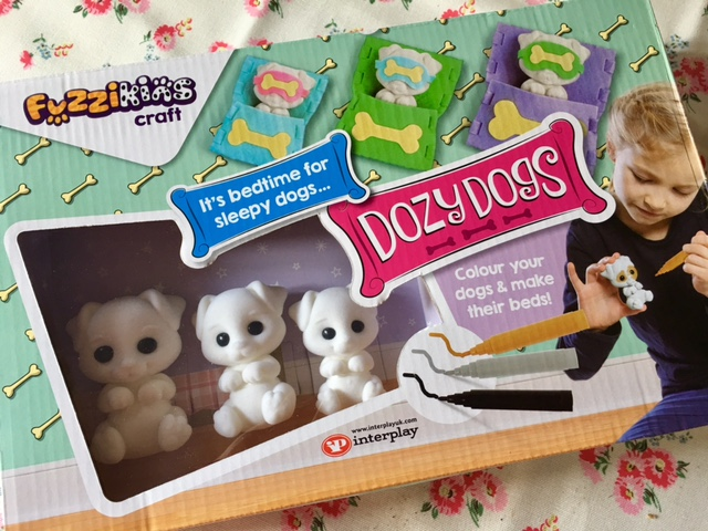 Fuzzikins Dozy Dog craft set, #review