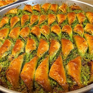 fıstıkzade baklava çayyolu ankara menü fiyat baklava siparişi