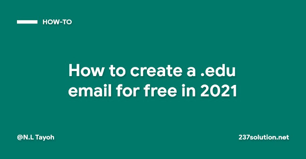 How to create a .edu email for free in 2021