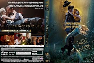 CARATULA UNA SIRENA EN PARIS - UNE SIRÉNE Á PARIS 2020[COVER DVD]