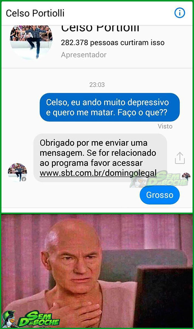 QUE ISSO, CELSO?!