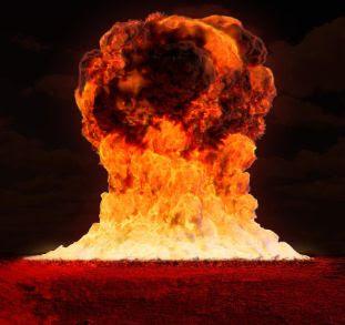 Big explosion