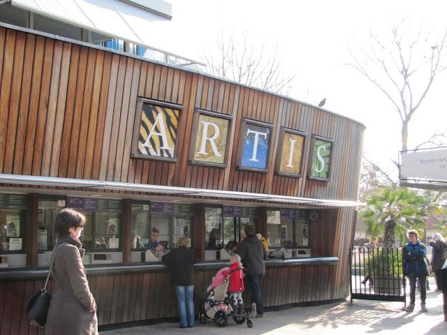 Informações sobre o Natura Artis Magistra em Amsterdã