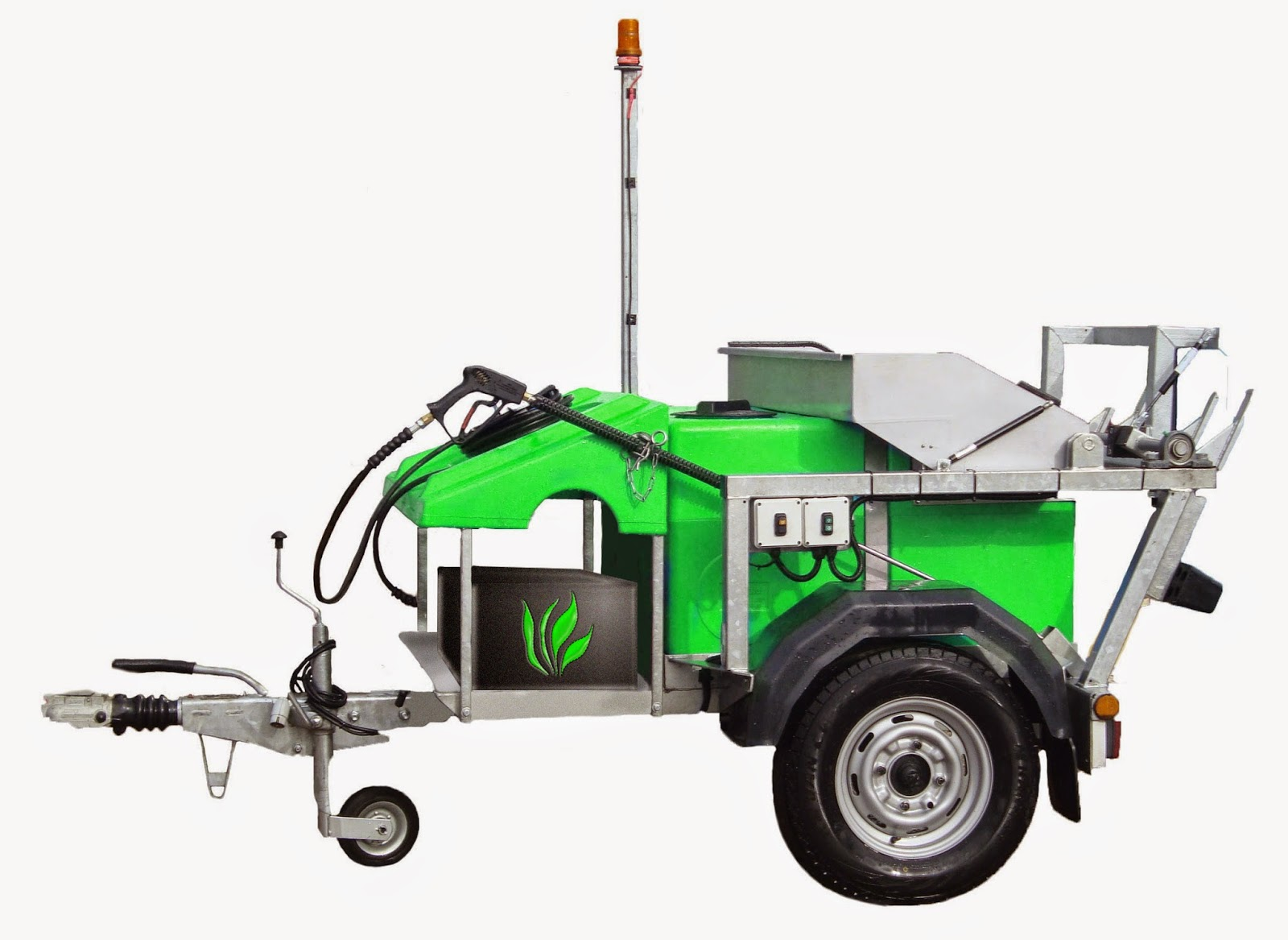 green award 2014 apple morclean battery operated bin cleaning machine