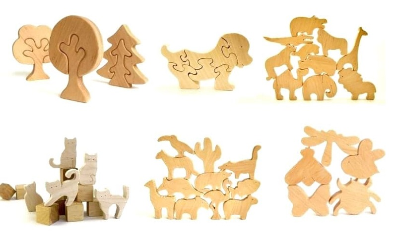 vidwood toys wooden toys from Etsy