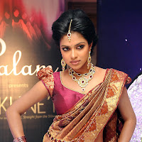 Amala paul in traditional saree