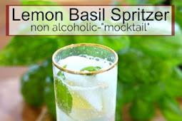 Lemon Basil Spritzer