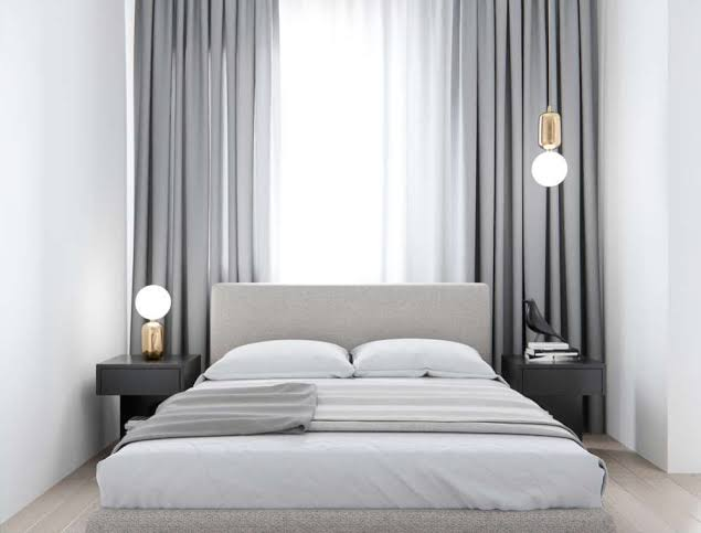 30 Ide Dekorasi Kamar Tidur Black And White Fatiha Decor