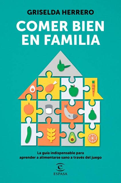 Portada libro Comer bien en familia de Griselda Herrero