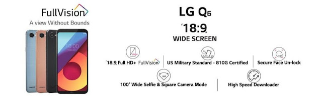 LG Q6 Specifications