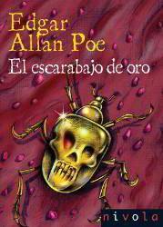 Portada de El esarabajo de oro Libro completo para descargar pdf gratis