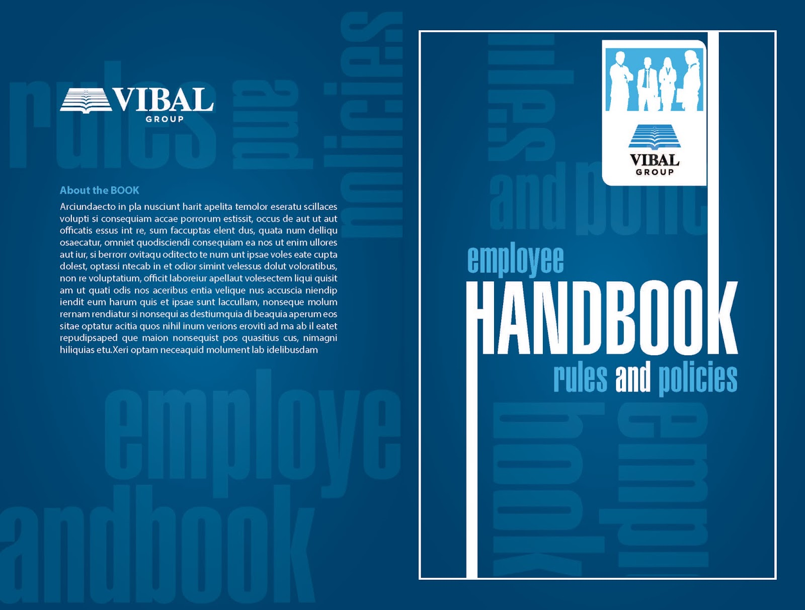 Butingting july 2015 for Employee handbook cover design template