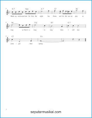 This Is All I Ask 2 chords jazz standar