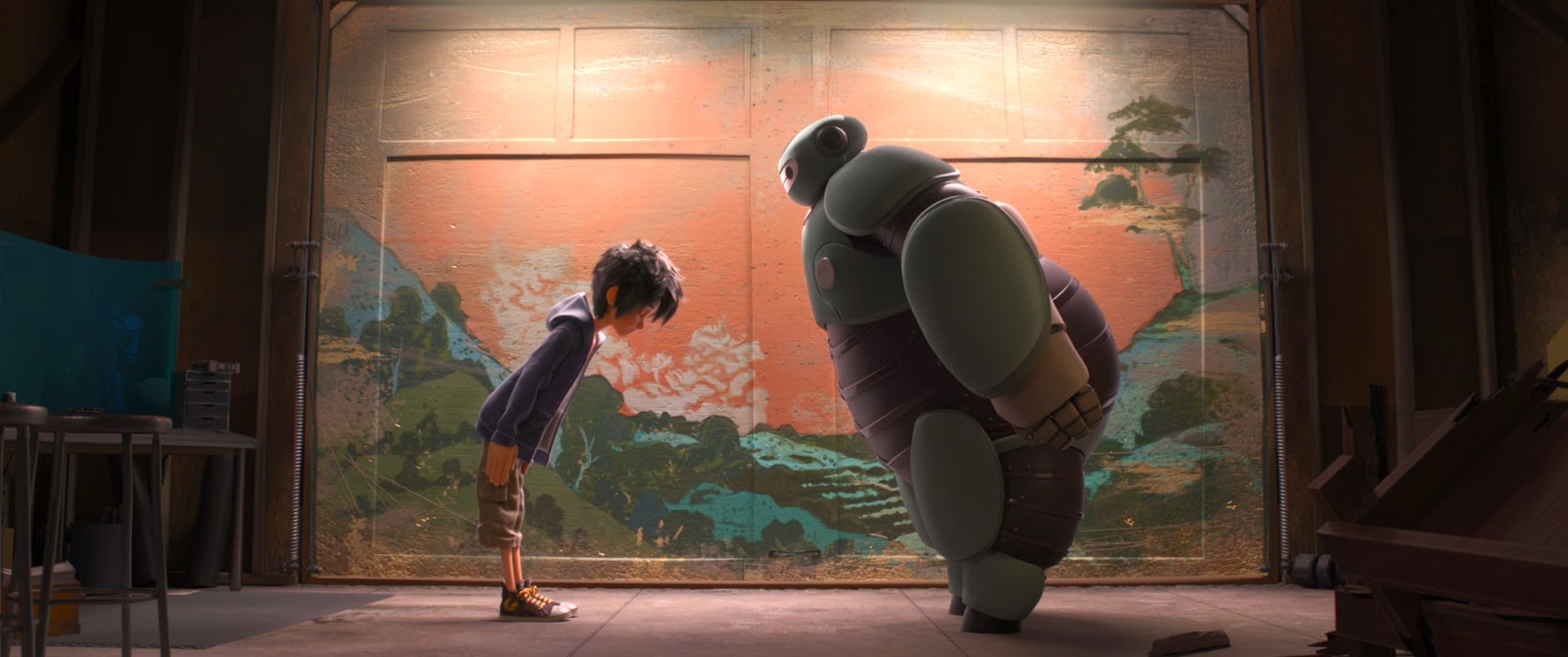 Big Hero 6 Disney movie animatedfilmreviews.filminspector.com