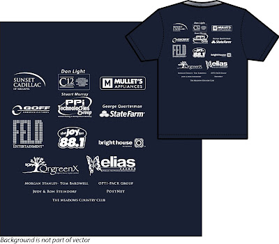 Florida Imprinted T-Shirts Wholesale Direct From Factory- Rush Service- No Set Up Charge- White T-Shirts with One Color Imprint as low as $2.50 each