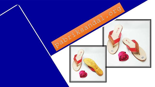 Sandal Wanita Kekinian - Sandal CS Japit Karet Wanita