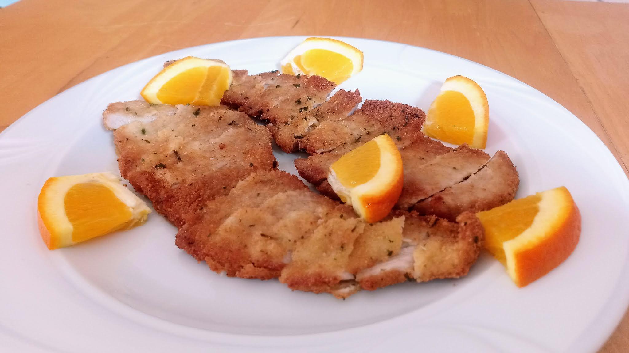 Receta de cerdo a la naranja