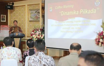 Pjs. Gubernur Didik Nilai Suasana Pilkada Memanas karena Kampanye Hitam dan Politik Uang