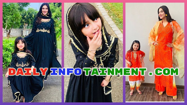 Fiza Ali shared Awesome Eid Pictures of Her Daughter Faraal Fawad