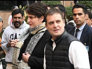rahul-priyanka-reach-nhrc-for-prostesters
