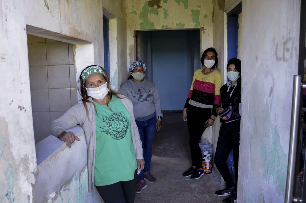 Mujeres campesinas organizan un refugio para compañeras en situación de violencia