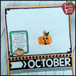 Pumpkin Handprint